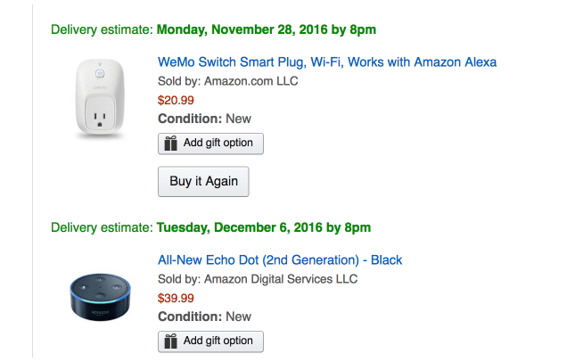 It begins with a Black Friday sale