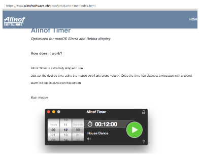Alinof TimerPro - countdown timer extraordinaire