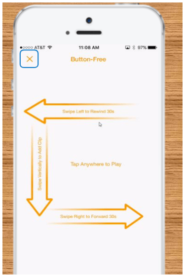 Audible - audio books, audio clips and button free awesomeness