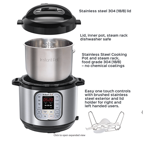 👍 Instant Pot DUO80 8 QT