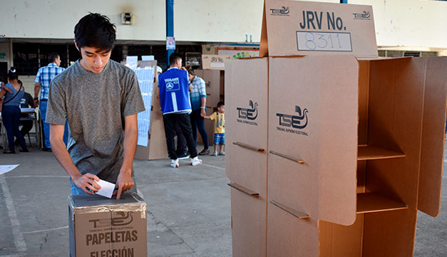 5.3 millones de salvadoreños convocados a votar