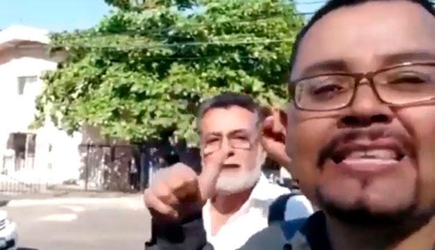 En rueda de reos, Schafik Handal reconoce a Roberto Silva como agresor