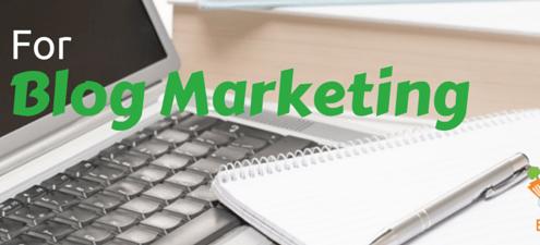 Tips for blog marketing