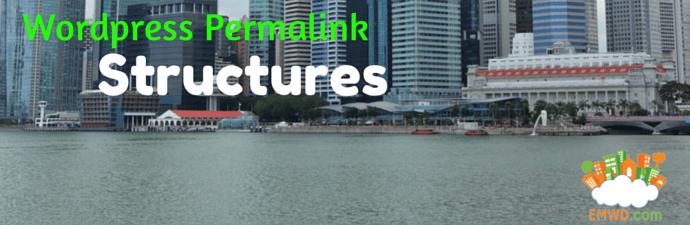 Wordpress Permalink Structures