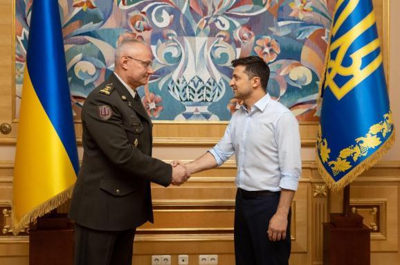 Зеленський призначив нового головнокомандувача Збройних сил