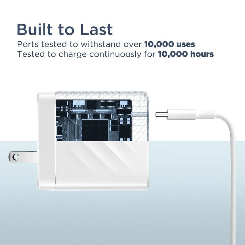 hight resolution of 36w pd wall charger 2 usb c ports us 6