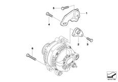 MINI R53/Coupe/Cooper S/ECE/Rear Axle/Rear Coil Spring