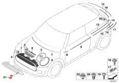 MINI R60/Countryman/Cooper SD/ECE/Manual Transmission
