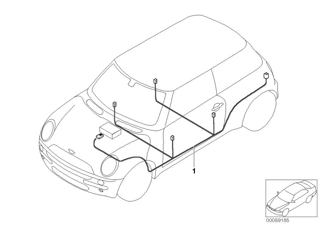 mini cooper front seat wiring diagram cooper wiring