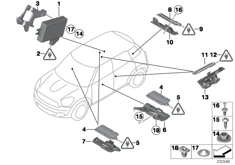 MINI R60/Countryman/Cooper S/USA/Vehicle Electrical System