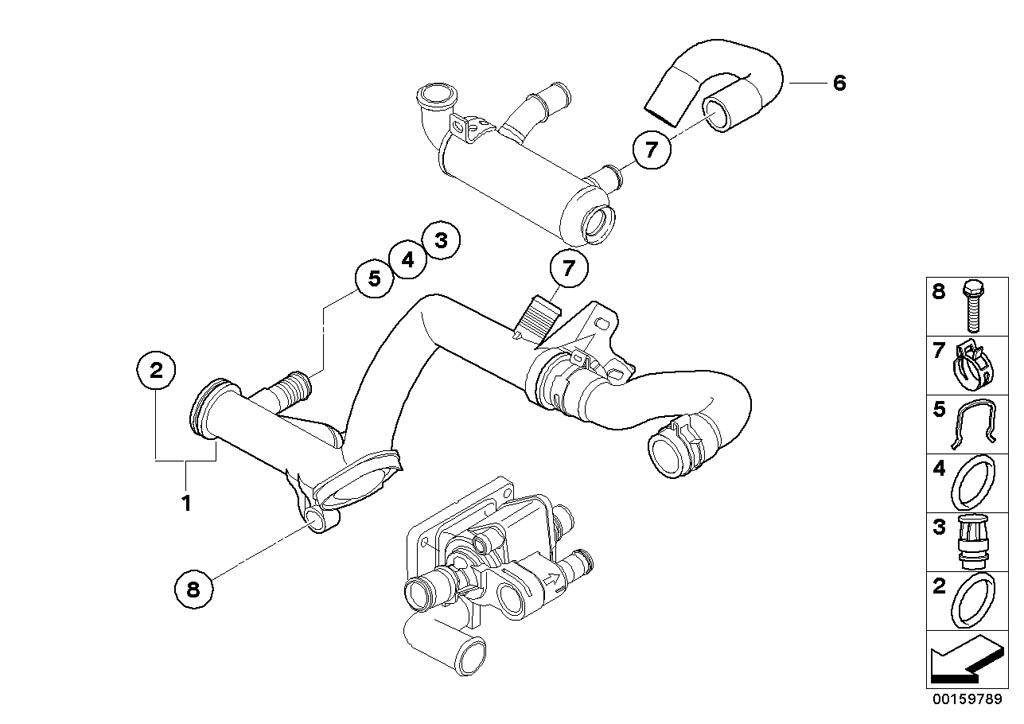 Mini R55/Clubman/Cooper D/Ece/Engine/Intake Manifold
