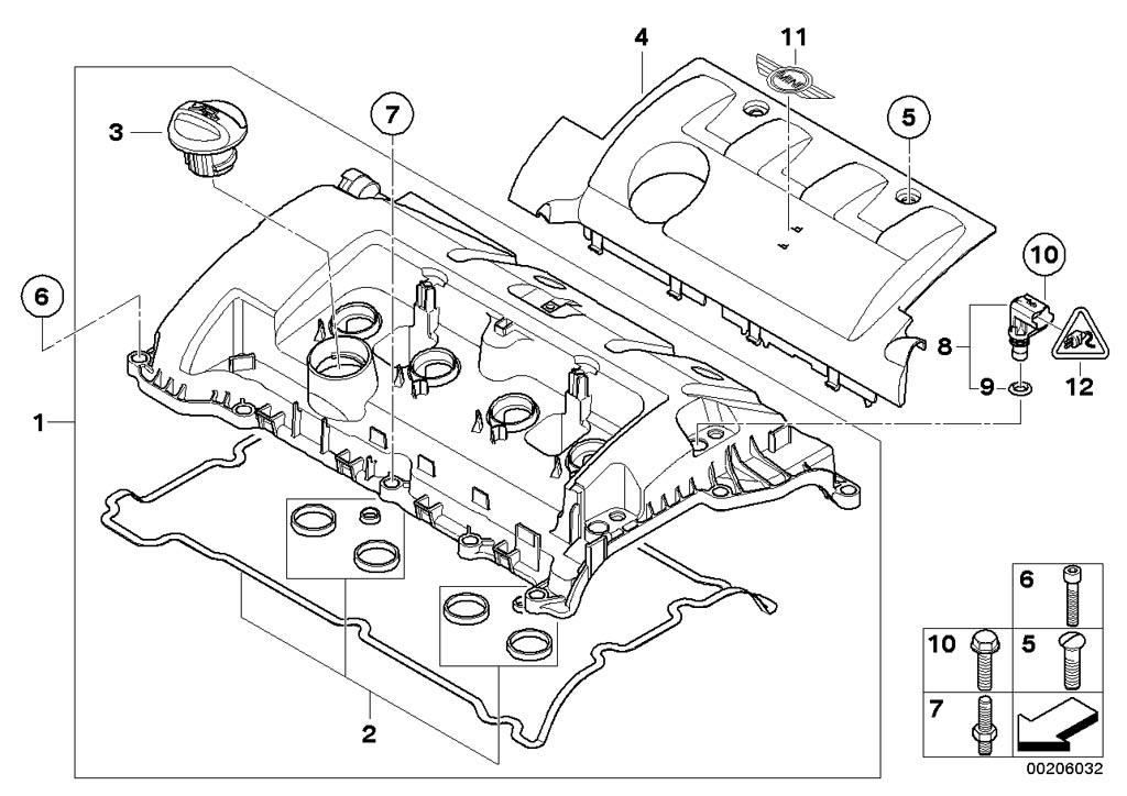 Mini Cooper R56 Engine Diagram