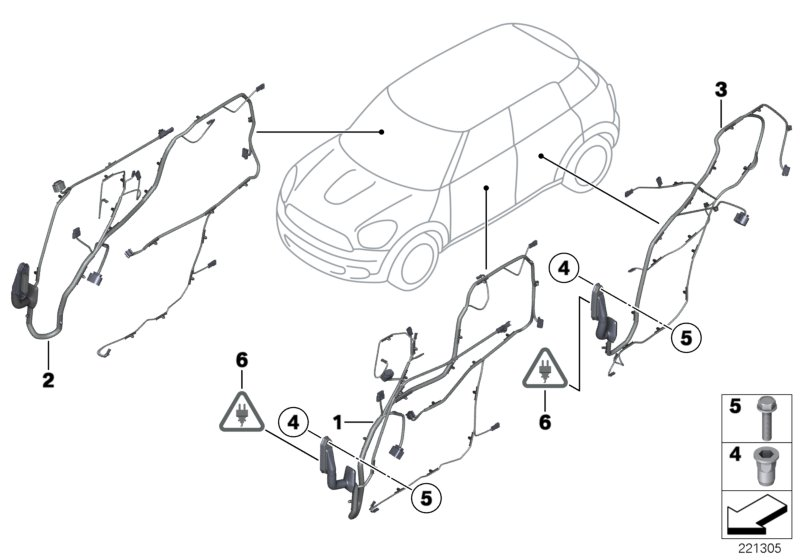 MINI R60/Countryman/One D/ECE/Vehicle Electrical System