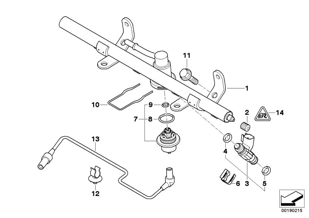 MINI R53/Coupe/Cooper S/ECE/Fuel Preparation System