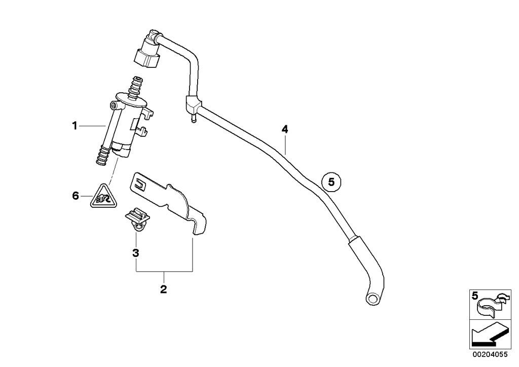MINI R53/Coupe/Cooper S/ECE/Fuel Preparation System/Fuel