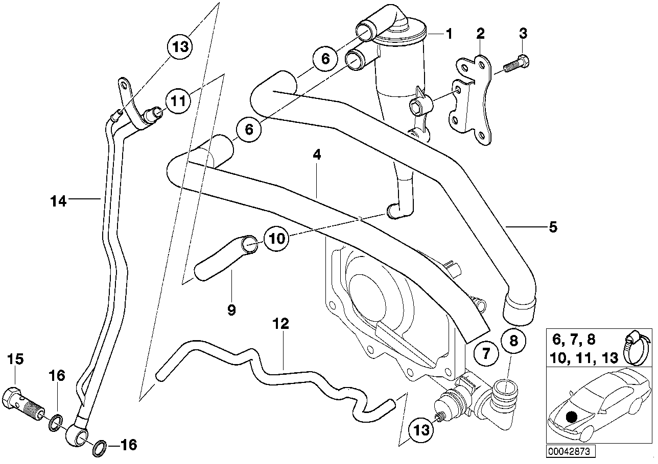 Bmw M62 Hose Diagram, Bmw, Free Engine Image For User