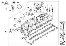 2008 Cadillac Escalade Engine Schematic, 2008, Free Engine