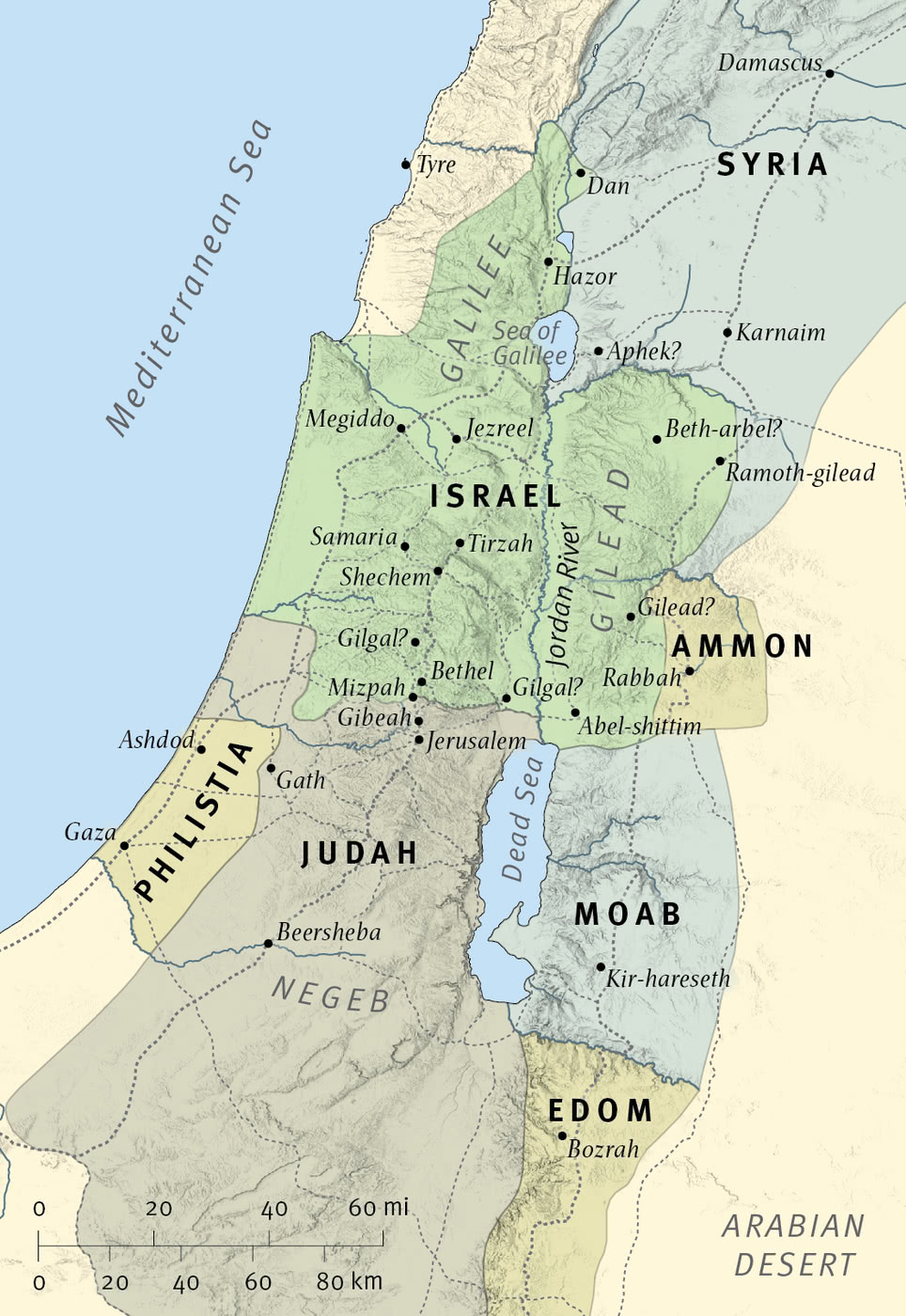 Israel and Judah at the Time of Hosea
