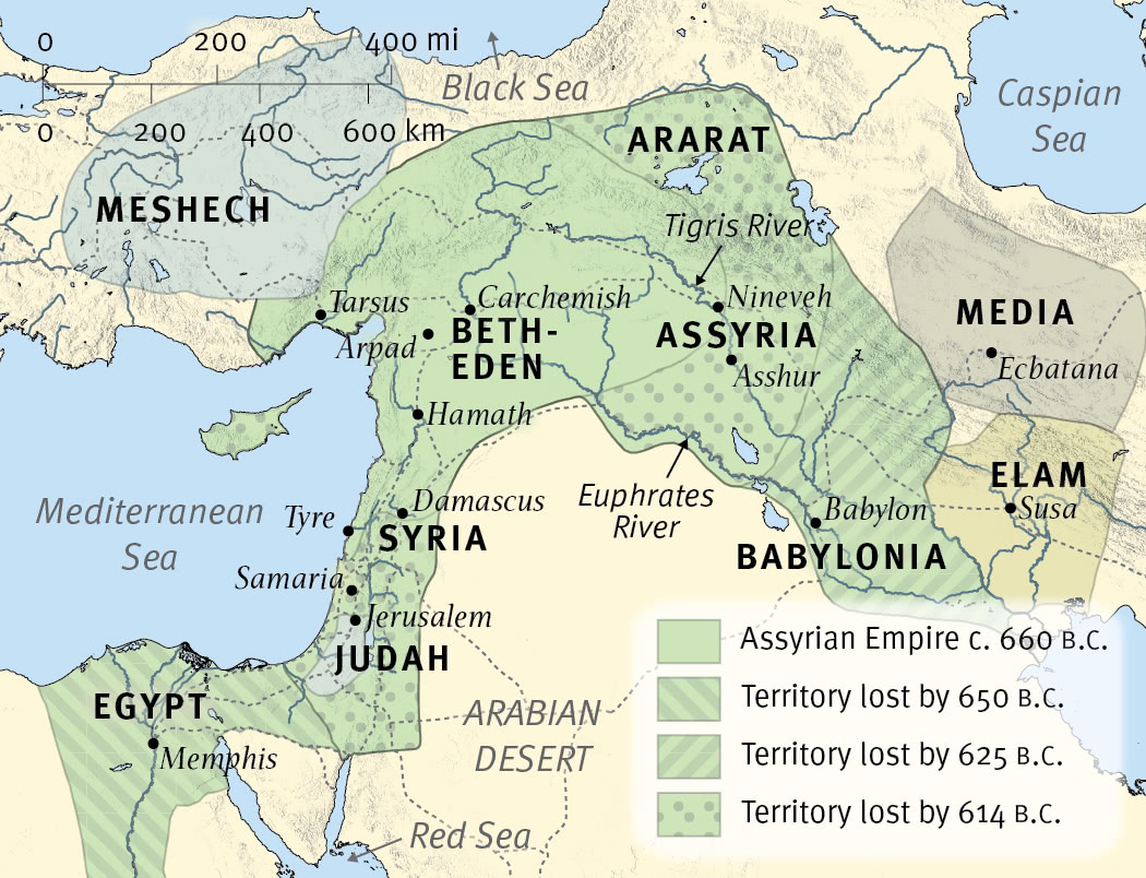 The Near East at the Time of Nahum