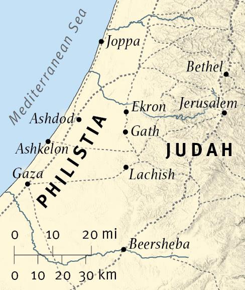 Zephaniah Prophesies against Judah's Neighbors
