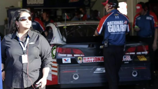 Here's how NASCAR's top female engineer is giving back to her native Puerto Rico