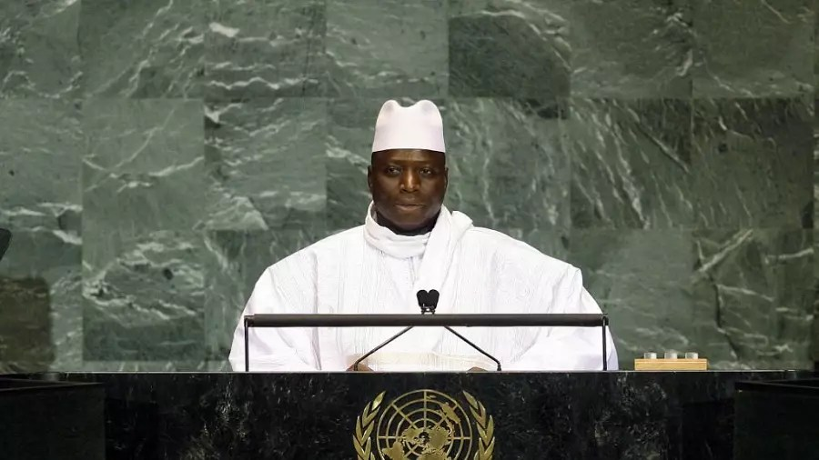 Image result for Gambia's President Warns Against Protests After Elections