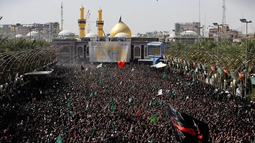 iraq karbala celebrates ashura