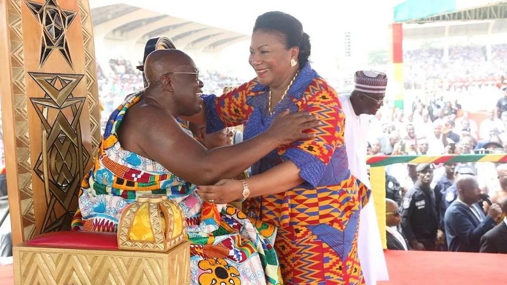 Nana Akufo Addo Swearing