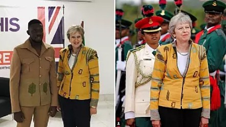 Image result for Nigerian Designer of Theresa May's African Jacket Thrilled