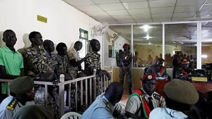 Image result for South Sudan court sentences ten soldiers to jail