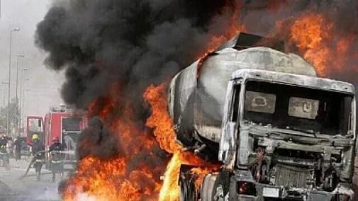 Image score for Nigerian Gas Tanker Blast Kills at Least 35