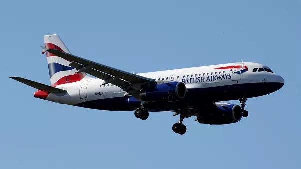 british airways flights returning