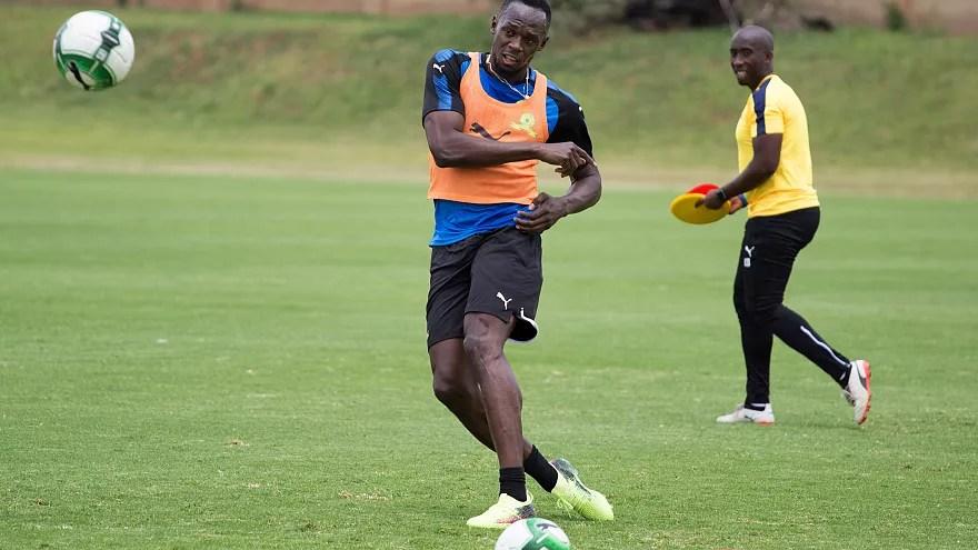 Resultado de imagen para Usain Bolt, ahora futbolista