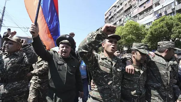 How 11 days of protests brought down Armenia's leader Serzh Sargsyan