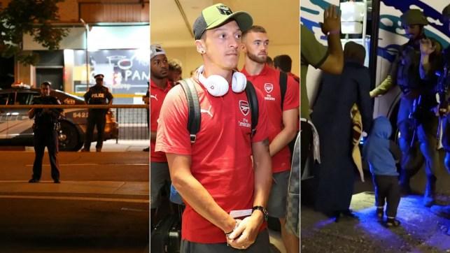 Live: Toronto shootings, Ozil quits, Syrian 'White Helmets' escape