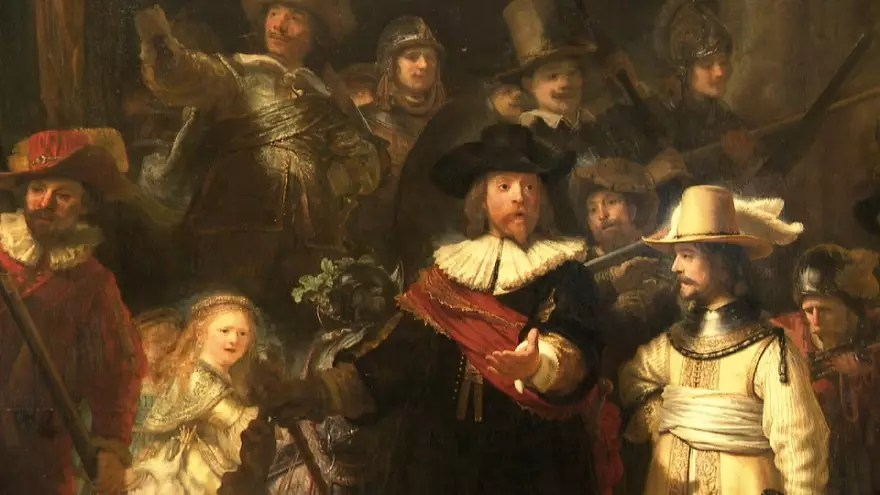 La Ronda de noche. Rembrandt