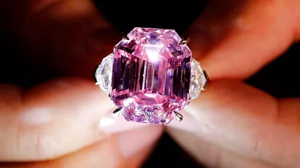 el diamante rosa más
