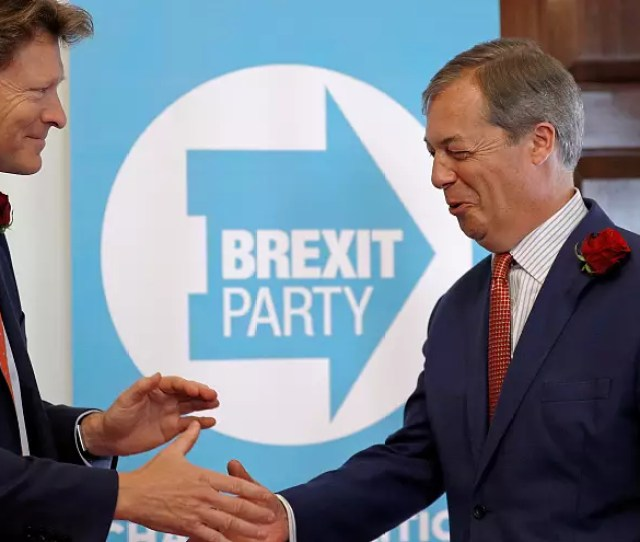 European Elections 2019 Fragmented Uk Politics Boosts Farages Brexit Party Reveals Poll