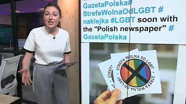 polish newspaper criticised over