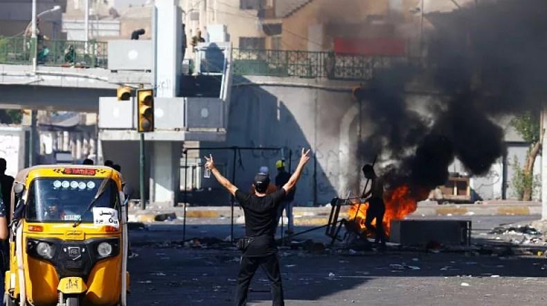 ناآرامیهای عراق در روز شنبه