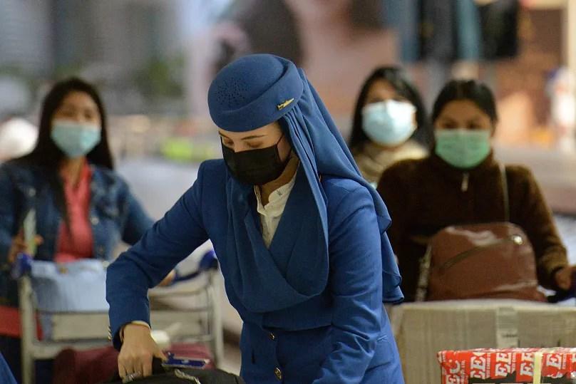 Coronavirus outbreak in pictures: deserted streets, pharmacy ...