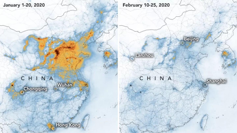 Corona Virus Map China