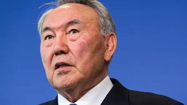 Foto de archivo del presidente de Kajistán Nursultan Nazarbayev.
