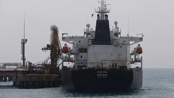 نفتکش ایرانی که در ماه می در یکی از بنادر ونزوئلا پهلو گرفت