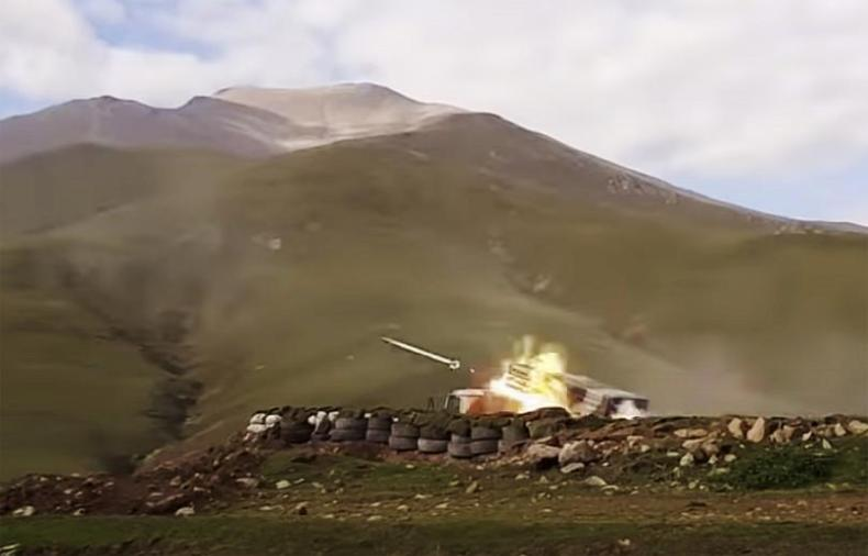 AP/Azerbaijan's Defense Ministry