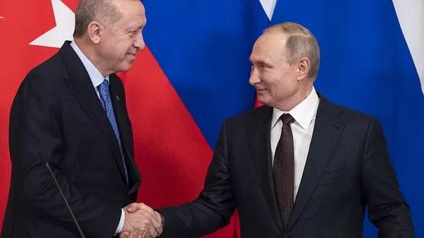 Cumhurbaşkanı Erdoğan ve Rusya Devlet Başkanı Putin
