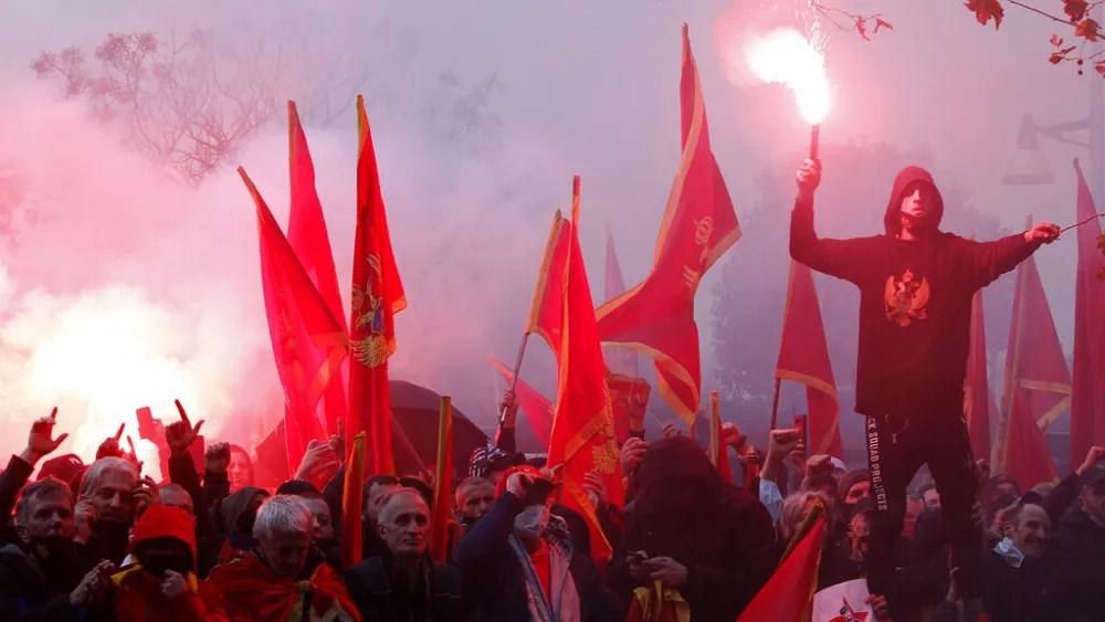 Montenegro's pro-Serb government vote to amend religion law