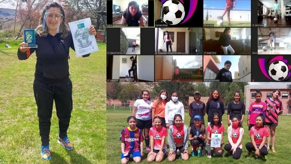 Football for Friendship awards Bolivian 'superwomen' girls academy