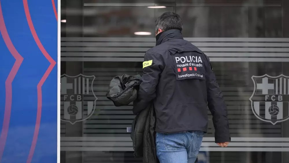 Several arrested after police enter FC Barcelona stadium in search operation