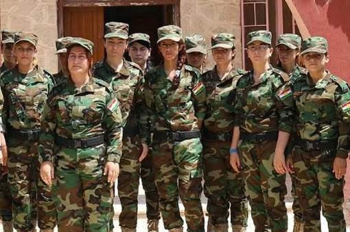 Femmes Peshmergas